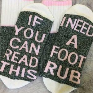 Accessories - 🎀3/$22🎀 I Need A Foot Rub | Socks |
